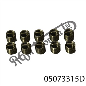 """3/8"""" B.S.W WIRE INSERT FOR HELICOIL TYPE THREAD REPAIR (1.5 DIA)"""