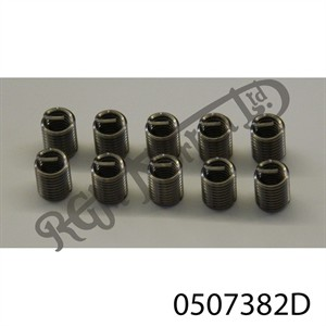 """5/16"""" U.N.C WIRE INSERT FOR HELICOIL TYPE THREAD REPAIR (2 DIA)"""
