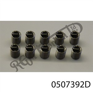 """3/8"""" U.N.C WIRE INSERT FOR HELICOIL TYPE THREAD REPAIR (2 DIA)"""