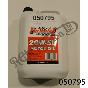TETROSYL FORMULA 1 20W-50 MOTOR OIL 4.55 LTR
