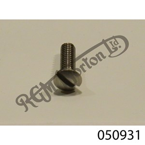 3BA RAISED SLOTTED COUNTER SUNK SCREW X 1/2""