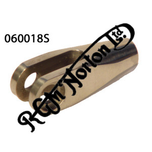 CLEVIS FORK 1/4 UNF LEFT HAND THREAD
