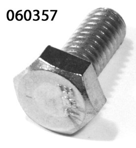 "MUDGUARD BOLT FOR BOTTOM STAY 5/16"" BSW X 3/4"" (SOLD EACH) BRIGHT ZINC PLATE"