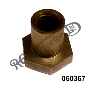 """PRIMARY CHAINCASE DOMED NUT, 3/8"""" UNF"""