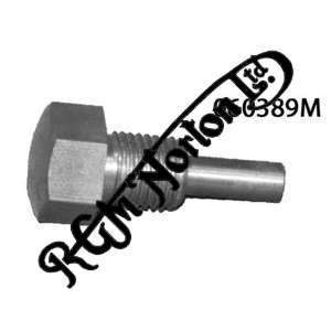 """OIL TANK & CHAINCASE DRAIN PLUG WITH MAGNET 3/8"""" UNF, COMMANDO (STAINLESS)"""