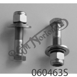 REAR SHOCK ABSORBER LOWER BOLTS, NUTS, WASHERS, PRE MK3 (PR)