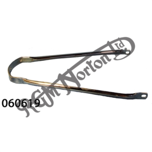 FRONT MUDGUARD STAY, CHROME 1968-70