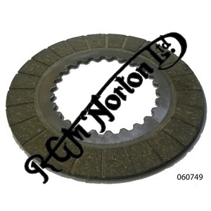 FERODO BONDED CLUTCH PLATE FOR COMMANDO 3.6MM