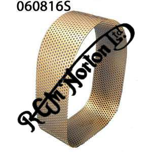 AIR FILTER PERFORATED GAUZE 1967-74 STAINLESS