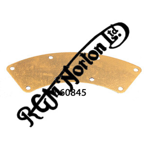 TWIN LEADING SHOE OUTLET BLANKING PLATE