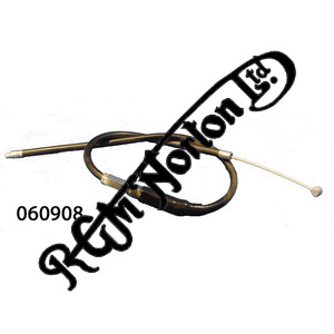"""CHOKE (AIR) CABLE, FIRST SECTION FITS COMMANDO ETC, 16 1/2"""" OUTER"""