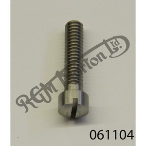 """RAISED CHEESEHEAD (FILISTER) 1 1/8"""" X 1/4"""" BSW SCREW, STAINLESS"""