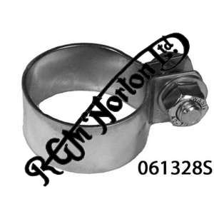 "EXHAUST CLAMP 1 3/8"" (1 1/2"" 38.10MM I.D), STAINLESS STEEL"
