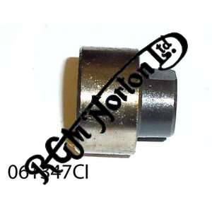 CAST IRON FORK DAMPER BODY TOP CAP FOR USE WITH ALLOY DAMPER ROD 28 T.P.I