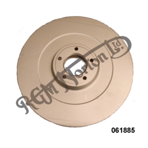 COMMANDO BRAKE DISC, FRONT OR REAR