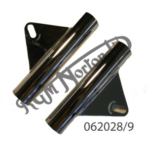 CHROME HEADLAMP BRACKETS (PR)
