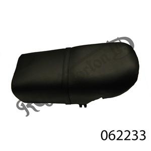 FASTBACK SEAT BLACK WITHOUT EARS (LONG RANGE) UK MADE, STEEL BASE