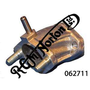 INLET CURVED MANIFOLD COMMANDO 32MM