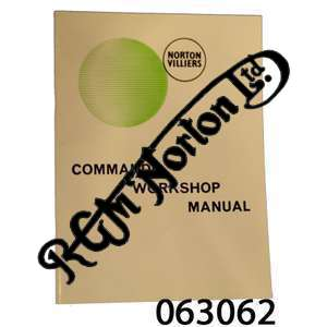 VERY EARLY COMMANDO FACTORY WORKSHOP MANUAL