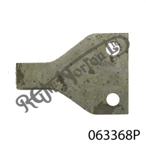 SPIN ON OIL FILTER RETAINING PLATE