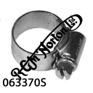 """OIL BREATHER JUBILEE CLIP  STAINLESS STEEL SIZE 0 (5/8"""" TO 7/8"""")"""