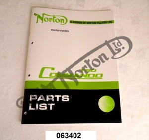 750 PARTS BOOK 1972 (EXPLODED DIAGRAMS & PART NUMBERS)