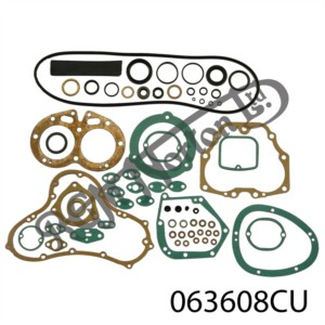 750 FULL GASKET SET WITH OIL SEALS AND COPPER HEAD GASKET