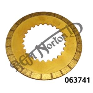 CLUTCH PLATE SINTERED BRONZE SPECIAL HI-TORQUE 3.2MM
