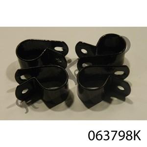 GRABRAIL CLAMPS, BLACK, SET OF FOUR