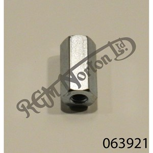TAIL LAMP PILLAR NUT. PLATED
