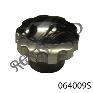COMMANDO SEAT HAND NUT, STAINLESS