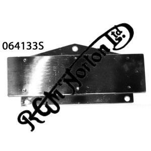 BLACK BOX AIR FILTER FRONT PLATE, STAINLESS
