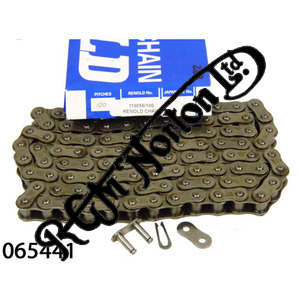 "RENOLDS 5/8"" X 3/8"" REAR WHEEL CHAIN, 100 LINKS"