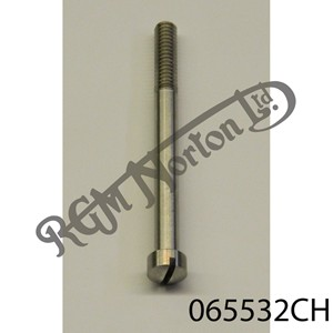 """RAISED CHEESEHEAD (FILISTER) 2 7/8"""" X 1/4"""" BSW SCREW, STAINLESS"""