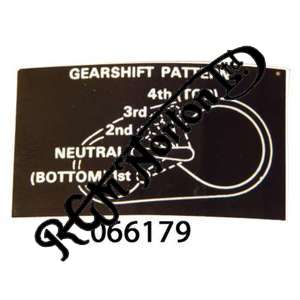 GEARSHIFT DECAL