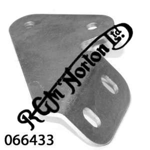 RIGHTHAND SILENCER BRACKET (INTERPOL ONLY)