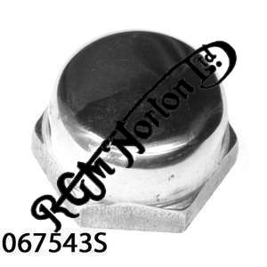 OIL PRESSURE RELIEF VALVE DOMED NUT (STAINLESS STEEL)