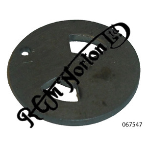 CAMSHAFT BREATHER PLATE (STATIONARY) PRE 1970 TWINS
