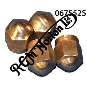 EXHAUST ROCKER COVER NUTS, STAINLESS (4)