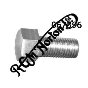 """5/16"""" x 26 T.P.I (BSC) X 5/8"""" U.H GENERIC STAINLESS BOLT"""