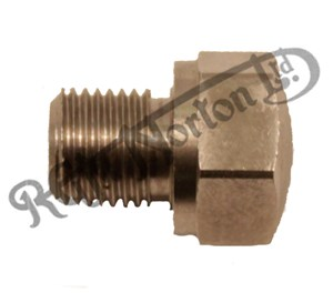 """OIL TANK PRIMARY CHAINCASE DRAIN PLUG, FEATHERBED 3/8"""" BSC"""