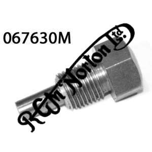 """OIL TANK & CHAINCASE DRAIN PLUG WITH MAGNET 3/8"""" BSC, DOMINATOR"""