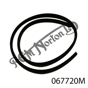 RUBBER U CHANNEL, FRONT NUMBER PLATE ETC, 1 METRE