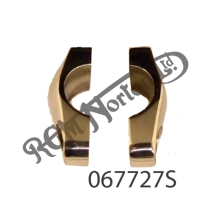POLISHED STAINLESS STEEL HANDLEBAR CLAMPS (PAIR)