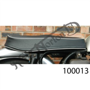 SLIMLINE SEAT, BLACK WITH WHITE BEAD, UK MADE