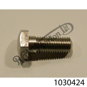 """3/8"""" BSF GENERIC BOLT.  1"""" U.H, STAINLESS"""