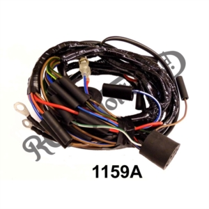 UK MADE BRAIDED MAIN WIRING LOOM,  MODELS 650SS, ATLAS 64-66  (MAGNETO)