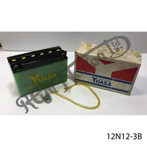 BATTERY YUASA, 12N12-3B