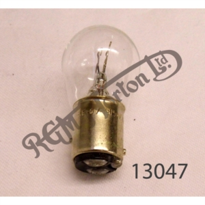 REAR TAIL LIGHT BULB, 6 VOLT