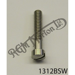 "RAISED CHEESEHEAD (FILISTER) 1 5/16"" X 1/4"" BSW SCREW, STAINLESS"